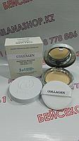 Enough Collagen Whitening Moisture Two Way Cake SPF30 PA+++ - Коллагеновая пудра 3 в 1/ 13 тон