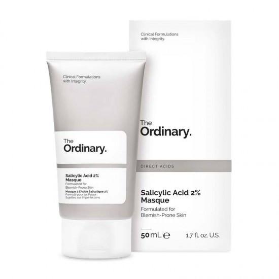 Маска с 2% салициловой кислотой. The Ordinary Salicylic Acid 2% Masque