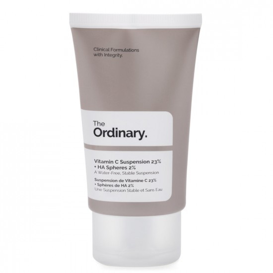 Антиоксидантная и осветляющая суспензия. The Ordinary Vitamin C Suspension 23 % +HA Spheres 2%
