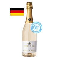 """Шампанское безалкогольное Carl Jung """"Blanc De Blanc"""", белое, полусухое 0,75л"""