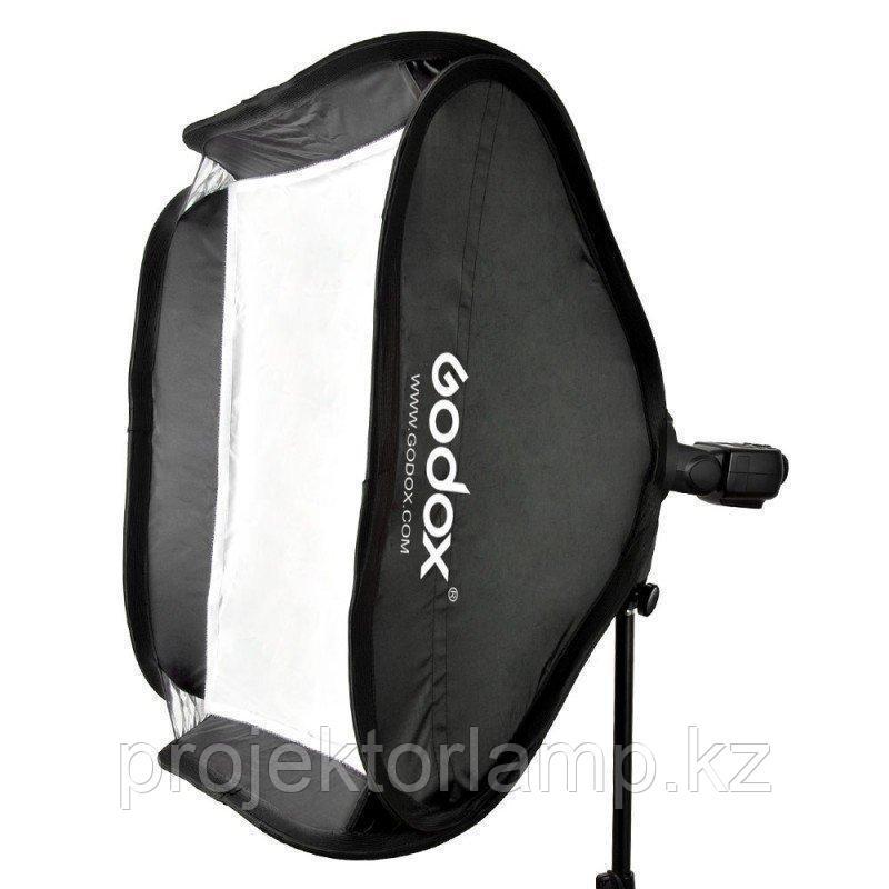 Софтбокс (рассеиватель) Godox 80х80 SFUV8080 Bowens для накамерных вспышек