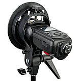 Софтбокс (рассеиватель) Godox 80х80 SFUV8080 Bowens для накамерных вспышек, фото 7