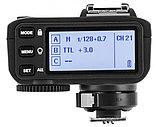 Радиосинхронизатор Godox X2T-N TTL для Nikon, фото 4