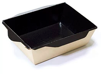 Салатник с крышкой черный Opsalad 500мл