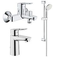Готовый комплект для ванной комнаты GROHE BauEdge (233777)