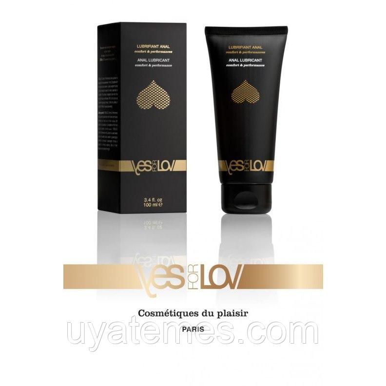 Анальный гель-лубрикант «Comfort & Performance» от французского бренда YESforLOVE, объем 100 мл