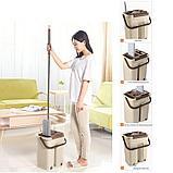 Швабра с ведром и автоматическим отжимом - комплект для уборки Scratch Cleaning Mop., фото 3