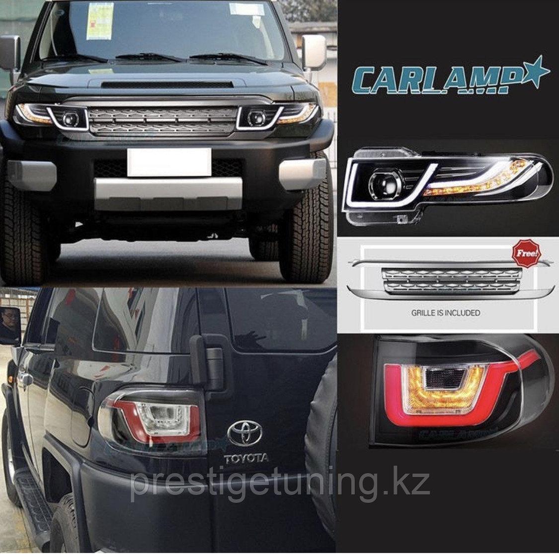 Комплект тюнинга на Toyota FJ Cruiser дизайн Range Rover