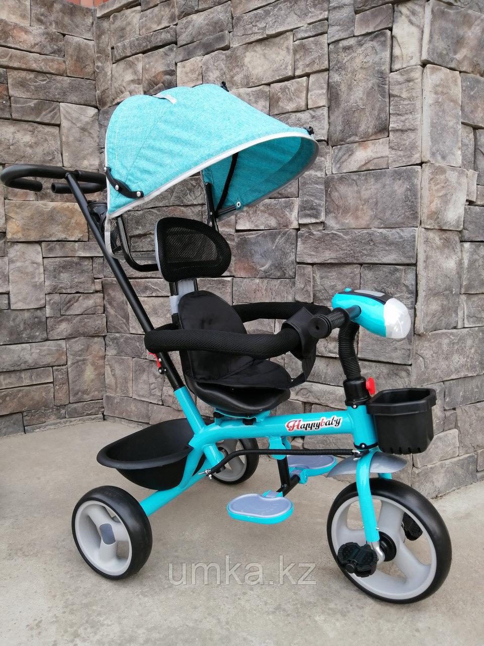 Трёхколёсный велосипед Happy Baby с поворотным сиденьем.