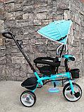 Трёхколёсный велосипед Happy Baby с поворотным сиденьем., фото 3