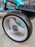 Трёхколёсный велосипед Happy Baby с поворотным сиденьем., фото 4