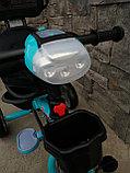 Трёхколёсный велосипед Happy Baby с поворотным сиденьем., фото 6