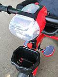 Трёхколёсный велосипед Happy Baby с поворотным сиденьем., фото 8