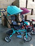 Трёхколёсный велосипед Happy Baby с поворотным сиденьем., фото 9
