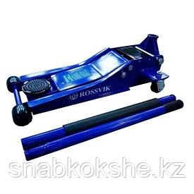 Домкрат подкатной V3 LOW PROFILE с педалью, г/п 3,0т, 75-505мм
