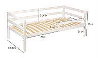Подростковая кровать Polini Kids Simple 850 Белая