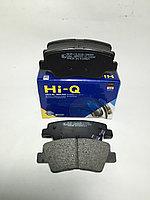 Kолодки тормозные задние HI-Q (Hyundai Solaris 10-, Elantra; Kia Rio 11-, Soul 1.6 09- задние дисковые)