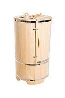 Кедровая фитобочка, Круглая 130*78*/2,5 см, PREMIUM