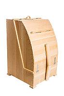 Кедровая фитобочка, Квадратная 130*84*86/2,5 см, PREMIUM
