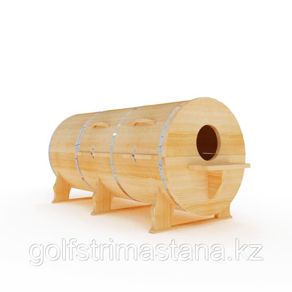 Кедровая фитобочка, Горизонтальная  103*210*80/2,5 см, PREMIUM