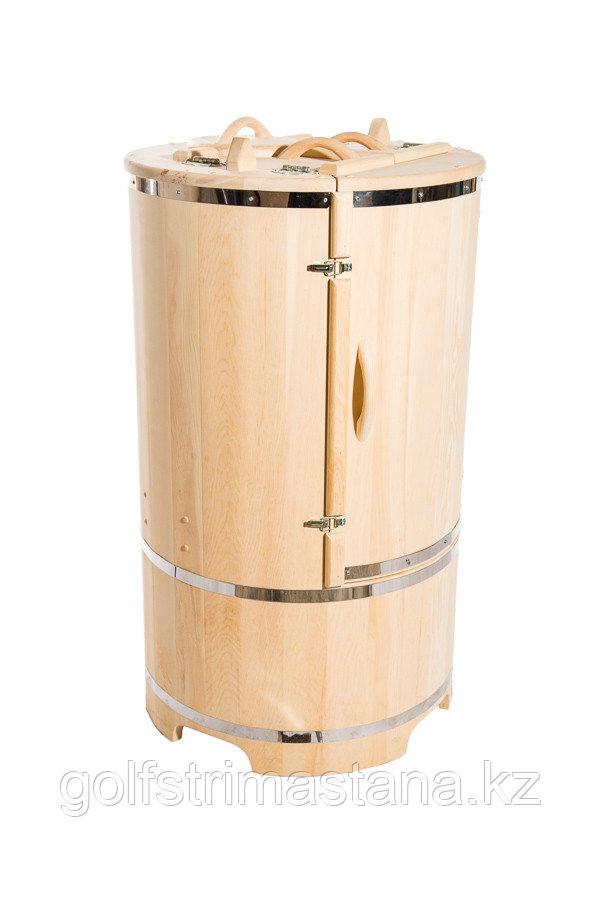 Фитобочка с парогенератором, Круглая 130*78*/4 см, PREMIUM