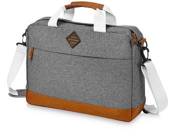 Конференц-сумка Echo для ноутбука 15,6, серый меланж