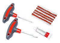 Kingtul Набор инструментов для ремонта шин 8 предметов(шило и протяжка с прорезиненными