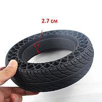 Литая/Твердая шина 200x50 для электросамоката, 2.7 см, с отверстиями
