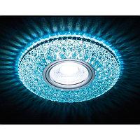 Светильник встраиваемый светодиодный, G5.3, 3Вт, цвет белый, d=60 мм