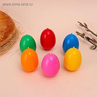"""Свеча """"Пасхальное яйцо Подарочное"""", 4,1 х 6,5 см, 48 грамм, микс"""