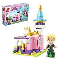 Конструктор Принцессы «Мини замок и принцесса», 1 минифигура и 116 деталей