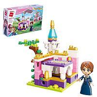 Конструктор Принцессы «Мини замок и принцесса», 1 минифигура и 118 деталей