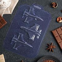 Форма для шоколада «Истребитель»
