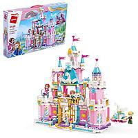 Конструктор Принцессы «Королевский замок», 4 минифигуры и 801 деталь