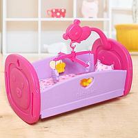 Кровать для кукол «Малыш» с аксессуарами