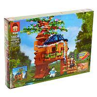 Конструктор блочный «Дом на дереве», 537 деталей