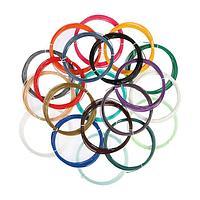 Пластик UNID PLA20F, для 3Д ручки, 20 цветов в наборе, по 10 метров