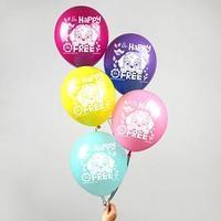 Воздушные шары 'Be happy', Щенячий патруль (набор 5 шт) 12 дюйм