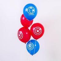 Воздушные шары 'С Днём Рождения', Мстители, 5 шт., 12'