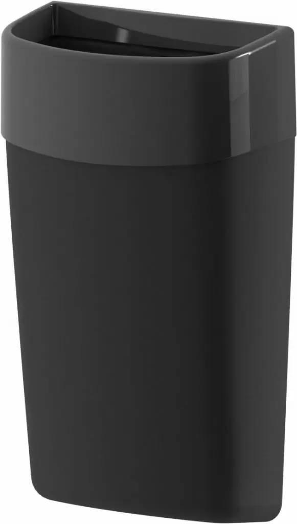 Навесная корзина для мусора Breez Myriad 50 литров (чёрная)