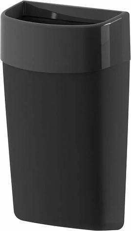 Навесная корзина для мусора Breez Myriad 50 литров (чёрная), фото 2
