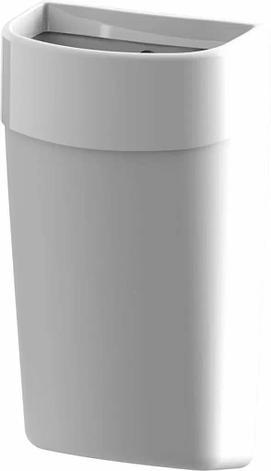 Breez Myriad Корзина для мусора настенная 50 литров (белая), фото 2