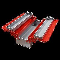 Раскладной ящик для инструментов металлический 190х520х200 5 секции IZELTAS 8420336305