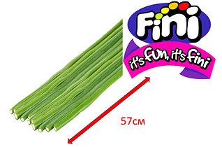 МЕГА Палочки зеленые ХХL 57см  со вкусом  яблока 0,58кг FINI (Испания)