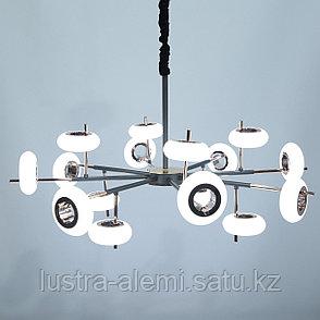 Люстра ЛЭД 1281/4+8+4 144W LED, фото 2