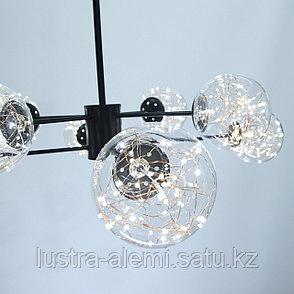 Люстра Hi-Tech HY-33/8 BK LED, фото 2