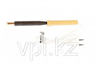 Паяльник электрический, деревянная ручка, ЭПСН-03-80/220,  Сибртех