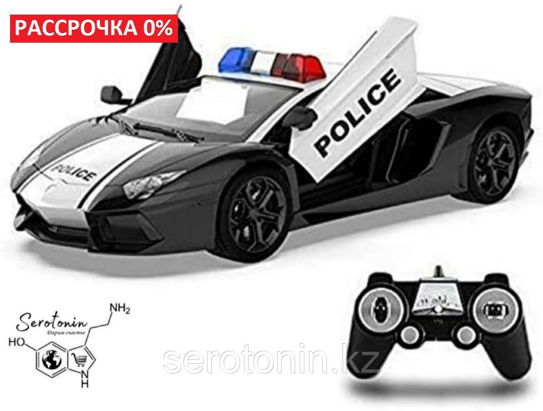 Полицейская машина на радиоуправлении Lamborghini