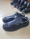 Спецобувь ботинки полуботинки сандали сапоги кирзовые с металлическим подноском, фото 2
