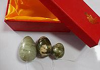 Нефритовые яйца, 3 шт, фото 1